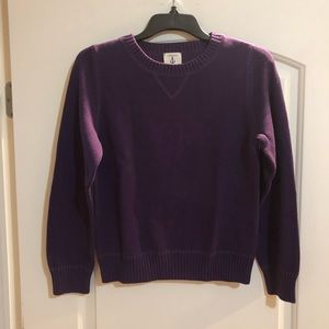 Lands' End Knit Crew Neck Sweater